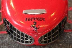 画像3: フェラーリ156F1 シャークノーズ ビンテージペダルカー 送料無料