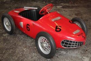 画像4: フェラーリ156F1 シャークノーズ ビンテージペダルカー 送料無料