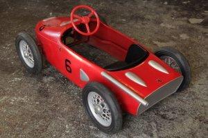 画像5: フェラーリ156F1 シャークノーズ ビンテージペダルカー 送料無料