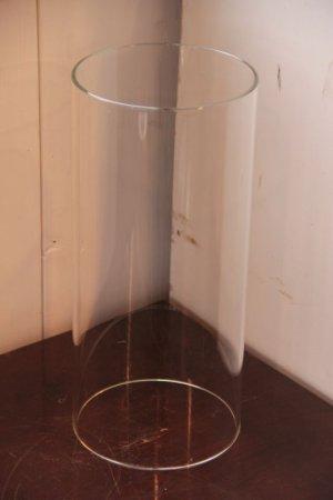 画像1: 耐熱ガラスチムニー