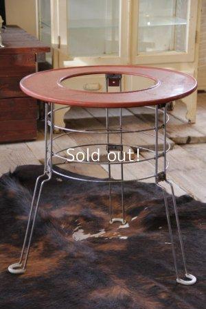 画像1: ビンテージストーブガード サロンテーブル