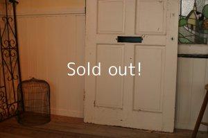 画像3: イギリス、アンティーク木製ドア、ペイントドア