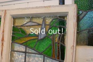 画像5: イギリス、アンティークステンドグラス,2枚窓