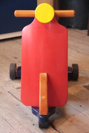 画像4: バーンナップス オリジナル キッズバイク (RED×BLUE×YELLO)