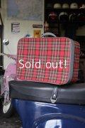 """LYCETT """"ライセット"""" 60'S スーツケース 旅行鞄 ツーリングバッグ"""