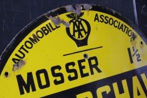 画像2: AAビンテージサイン(看板) AutomobileAssociation 1940〜1950年代