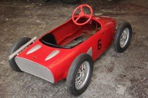 画像2: フェラーリ156F1 シャークノーズ ビンテージペダルカー 送料無料