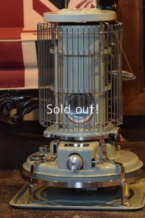 画像1: Aladdin Blue Flame Heater,アラジンBF3902 グリーン 緑 1995年製  ガード付き 新品芯