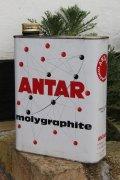 ANTAR ビンテージオイル缶
