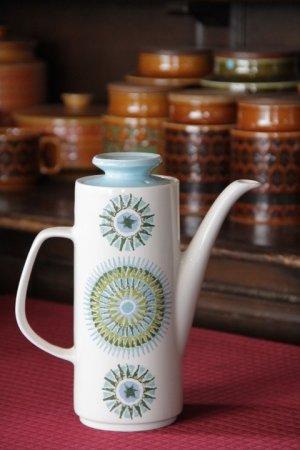 画像1: J&G Meakin:(J&Gミーキン)「Aztec」アズテック コーヒー/ティーポット