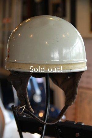 画像1: BAYARD CASQUE MOTO,ビンテージヘルメット アルミシェル made in frence